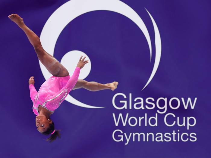 Glasgow World Cup Gymnastics